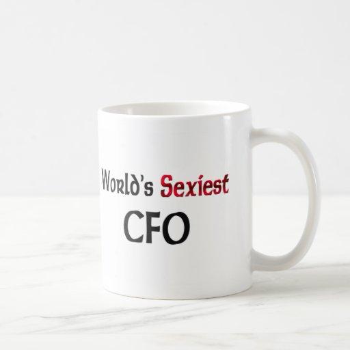World's Sexiest Cfo Classic White Coffee Mug