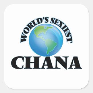 World's Sexiest Chana Square Sticker