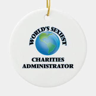 World's Sexiest Charities Administrator Ornament
