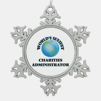 World's Sexiest Charities Administrator Ornaments
