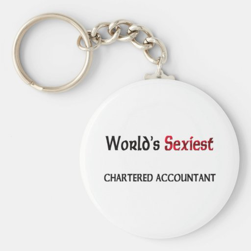 World's Sexiest Chartered Accountant Keychains