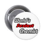 World's Sexiest Chemist Pins