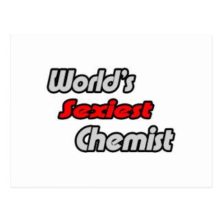 World's Sexiest Chemist Postcard