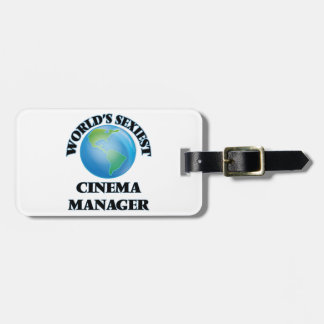 World's Sexiest Cinema Manager Tag For Luggage