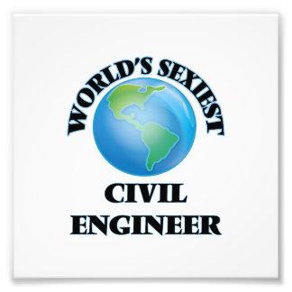 World's Sexiest Civil Engineer Photo Art