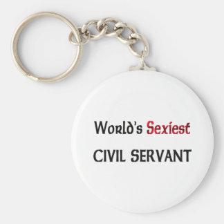 World's Sexiest Civil Servant Keychain