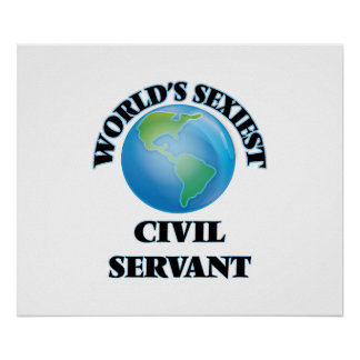 World's Sexiest Civil Servant Poster