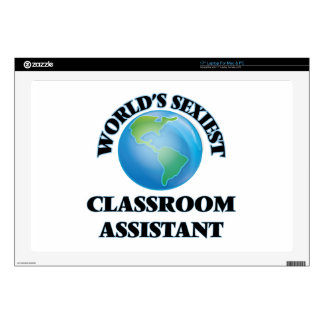 """World's Sexiest Classroom Assistant Skin For 17"""" Laptop"""
