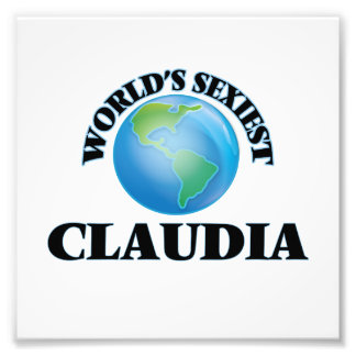 World's Sexiest Claudia Photo