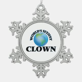 World's Sexiest Clown Ornaments