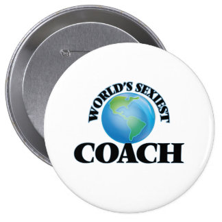 World's Sexiest Coach Pinback Buttons