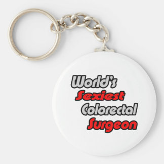 World's Sexiest Colorectal Surgeon Keychain