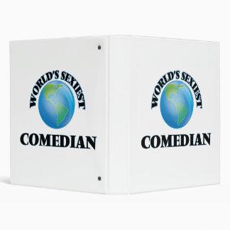 World's Sexiest Comedian Binders