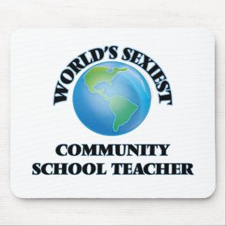 World's Sexiest Community School Teacher Mousepads
