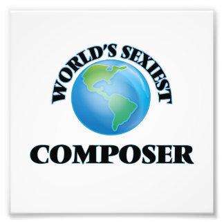 World's Sexiest Composer Photo Art