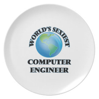 World's Sexiest Computer Engineer Plate