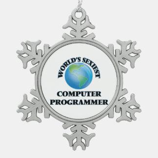 World's Sexiest Computer Programmer Ornament