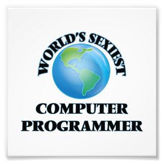World's Sexiest Computer Programmer Photograph