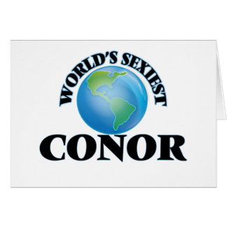 World's Sexiest Conor Greeting Card