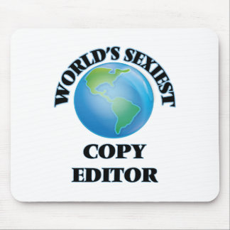 World's Sexiest Copy Editor Mousepads