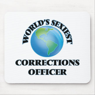 World's Sexiest Corrections Officer Mouse Pads
