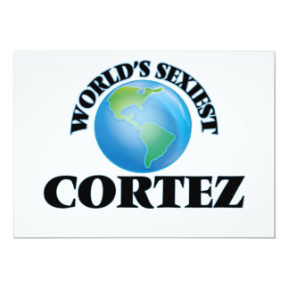 World's Sexiest Cortez Card