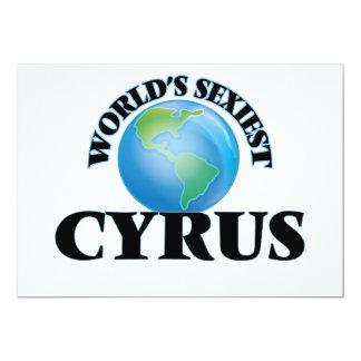 World's Sexiest Cyrus 5x7 Paper Invitation Card