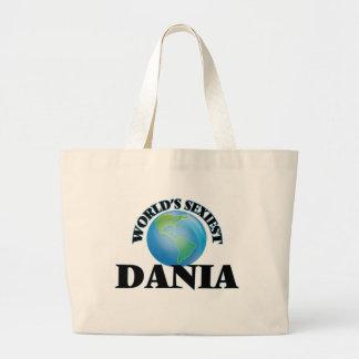 World's Sexiest Dania Jumbo Tote Bag