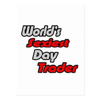 World's Sexiest Day Trader Postcard