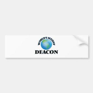 World's Sexiest Deacon Bumper Stickers