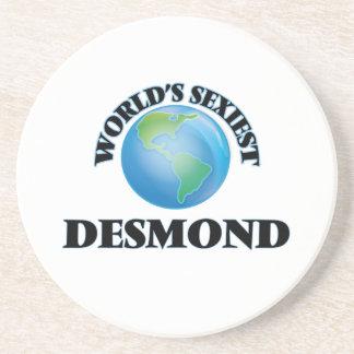 World's Sexiest Desmond Beverage Coaster