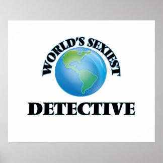 World's Sexiest Detective Print