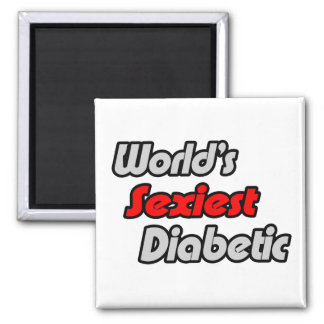 World's Sexiest Diabetic Magnet