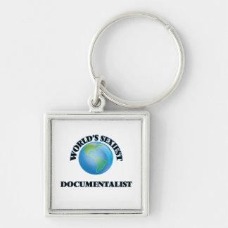 World's Sexiest Documentalist Keychain