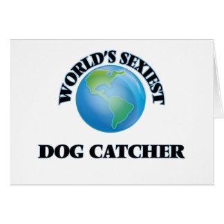 World's Sexiest Dog Catcher Card