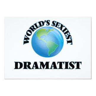 World's Sexiest Dramatist Invitation