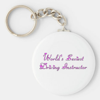 World's Sexiest Driving Instructor Keychain