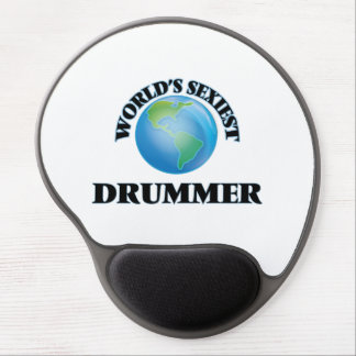 World's Sexiest Drummer Gel Mouse Pad