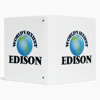World's Sexiest Edison Binders