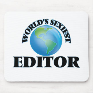 World's Sexiest Editor Mouse Pads
