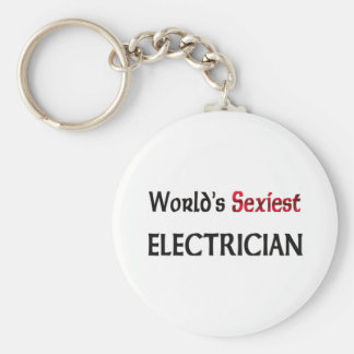 World's Sexiest Electrician Keychains