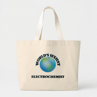 World's Sexiest Electrochemist Jumbo Tote Bag