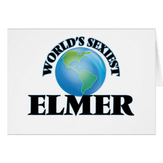 World's Sexiest Elmer Stationery Note Card