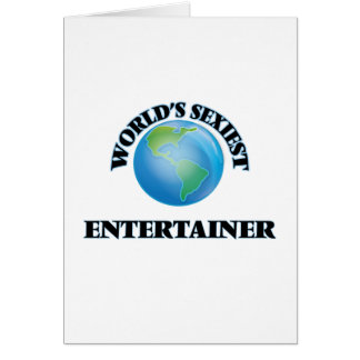 World's Sexiest Entertainer Card