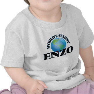World's Sexiest Enzo T-shirt