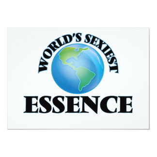 World's Sexiest Essence Customized Announcement Cards