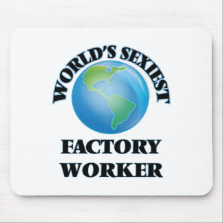 World's Sexiest Factory Worker Mouse Pad