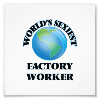 World's Sexiest Factory Worker Photograph