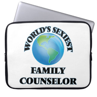 World's Sexiest Family Counselor Laptop Sleeve