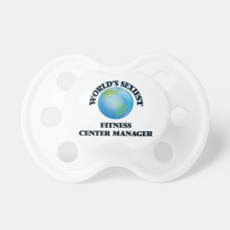 World's Sexiest Fitness Center Manager Baby Pacifiers